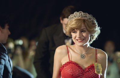 Ela interpretou Lady Di na produção (Reprodução)