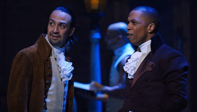 A produção conta a história de um dos pais fundadores dos EUA, Alexander Hamilton (Disney+ / Divulgação)
