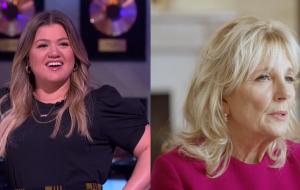 Kelly Clarkson vai entrevistar a primeira-dama dos Estados Unidos, Jill Biden, na Casa Branca