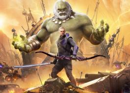 """Gavião Arqueiro e Kate Bishop exploram futuro distópico no trailer da expansão de """"Marvel's Avengers"""""""