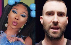 "Com Megan Thee Stallion, Maroon 5 anuncia lançamento do single ""Beautiful Mistakes"""