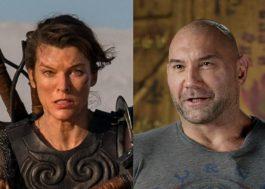 Milla Jovovich e Dave Bautista estrelarão filme baseado em conto de George R.R. Martin