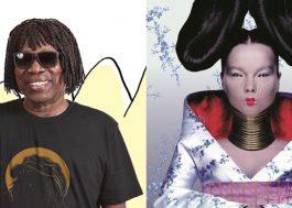 """Milton Nascimento relembra encontro com Björk no Brasil: """"Inesquecível"""""""