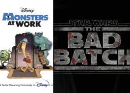 """Disney+ divulga datas de lançamento de """"Monsters at Work"""" e """"Star Wars: The Bad Batch"""""""