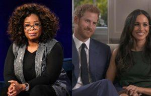 Oprah Winfrey vai entrevistar príncipe Harry e Meghan Markle em especial de TV
