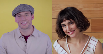 Claflin e Echegui vão interpretar os escritores Henry e Maria, respectivamente (Reprodução / Youtube)
