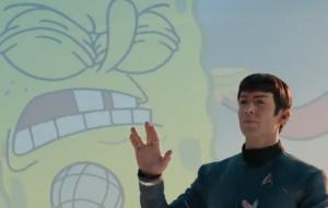Star Trek encontra Bob Esponja em comercial do Super Bowl