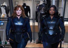"""Melissa McCarthy e Octavia Spencer vivem super-heroínas em fotos do filme """"Esquadrão Trovão"""""""