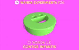 O Wanda lê contos infantis para você dormir no Experimenta dessa semana!