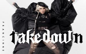"""Francinne fala sobre nova era e como transformou a dor em arte no EP """"Takedown"""", lançado hoje (26)"""