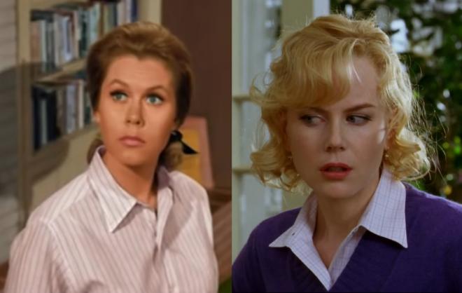 A protagonista Samantha já foi interpretada por Elizabeth Montgomery e Nicole Kidman (Reprodução / Youtube)