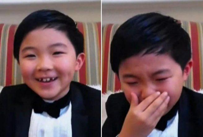 Ele tem apenas 8 anos de idade (Reprodução)
