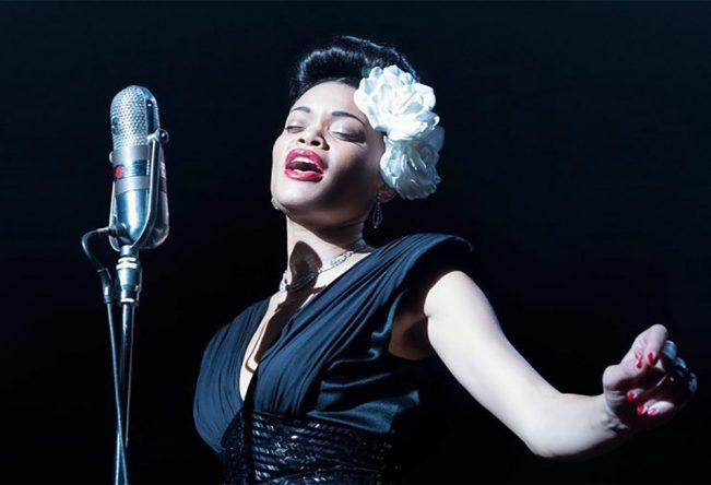 """Ela vive a protagonista no filme """"Os Estados Unidos vs. Billie Holiday"""" (Divulgação)"""