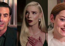 """Golden Globes 2021 celebra """"Borat 2"""", """"The Crown"""" e """"O Gambito da Rainha""""; saiba tudo o que rolou"""