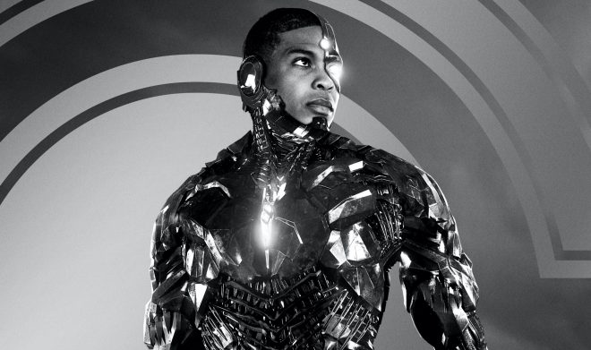 Além da prévia, o personagem também foi destaque de um cartaz em preto e branco (Divulgação)
