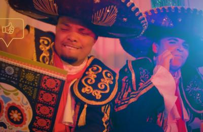 Video foi gravado por Tiago Lima em São Paulo (Reprodução)
