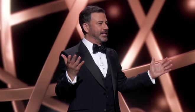 Em 2020, a premiação foi virtual e contou com Jimmy Kimmel como anfitrião (Reprodução / Youtube)