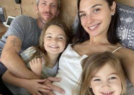 Gal Gadot anuncia gravidez do terceiro filho