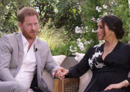 """À Oprah, Príncipe Harry fala sobre saída da realeza: """"Meu maior medo era a história se repetir"""""""
