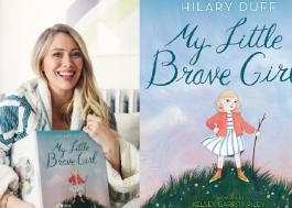 "Inspirada pela maternidade, Hilary Duff lança livro infantil ""My Little Brave Girl"""