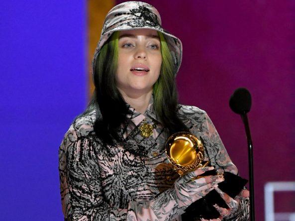"""A cantora venceu o prêmio pela música """"everything i wanted"""" (Getty Images)"""