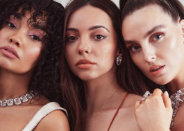 Little Mix posa para capa de revista pela primeira vez como um trio