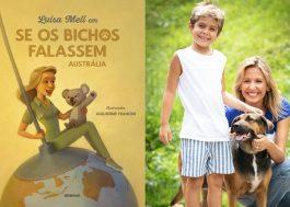 Luísa Mell anuncia série de livros infantis; eis a capa do primeiro!