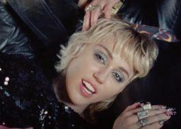 """Miley Cyrus faz show e incentiva a vacinação contra Covid-19 no clipe de """"Angels Like You"""""""