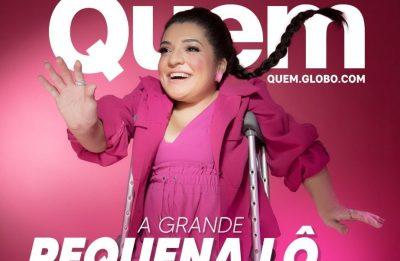 Ela também tem vontade de apresentar um programa de TV (Divulgação/Foto: Danilo Borges)