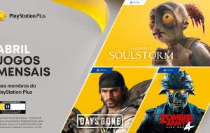 """PS Plus de abril terá """"Days Gone"""", """"Zombie Army 4: Dead Wars"""" e """"Oddworld: Soulstorm"""""""