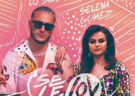 """DJ Snake e Selena Gomez estão cercados por desenhos na capa do single """"Selfish Love"""""""