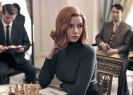 """""""O Gambito da Rainha"""" leva dois prêmios, incluindo o de Melhor Minissérie, no Golden Globes"""