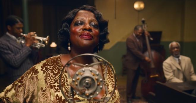 """A atriz foi indicada ao Golden Globes e SAG Awards por """"A Voz Suprema do Blues"""" (Reprodução / Youtube)"""
