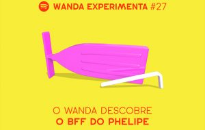 Phelipe Cruz descobre quem é o melhor amigo dele num grande quiz do Wanda Experimenta