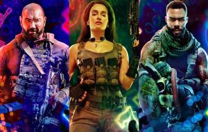 """Zack Snyder apresenta personagens de """"Army of the Dead"""" em novos pôsteres"""