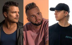 """Entrevista: ATB, Topic e A7S falam sobre experiência de revisitar hit dos anos 90 com """"Your Love (9pm)"""""""