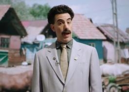 """Amazon Prime Video lançará especial com cenas inéditas de """"Borat: Fita de Cinema Seguinte"""""""