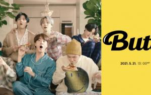 """BTS anuncia """"Butter"""", novo single, para maio"""