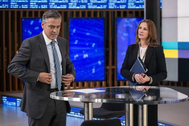 """Clooney e Roberts já contracenaram em """"Jogo do Dinheiro"""", de 2016 (Sony Pictures / Divulgação)"""