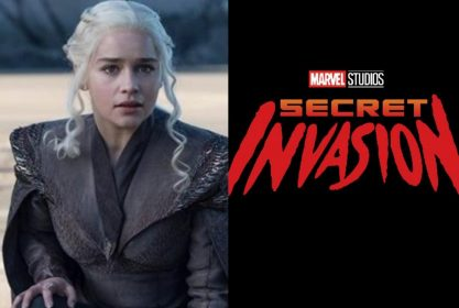 """Emilia Clarke na série """"Invasão Secreta""""?"""