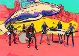 """Foo Fighters faz viagem psicodélica no clipe animado de """"Chasing Birds"""""""
