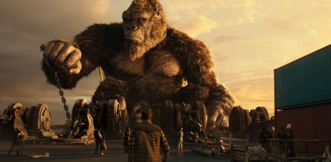 O filme mostra a batalha de duas lendas da ficção científica, Godzilla e King Kong (Reprodução / Youtube)