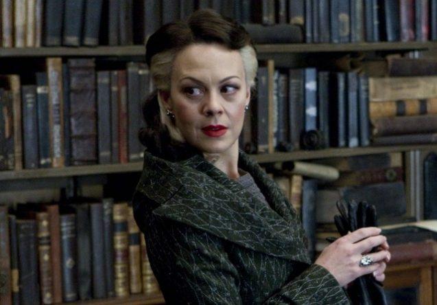 Ela interpretou Nascissa Malfoy nos cinemas (Reprodução)
