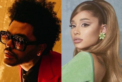 Trecho de parceria de The Weeknd e Ariana