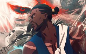 """Trailer final de """"Yasuke"""" amplia universo do anime sobre o primeiro samurai negro do Japão"""