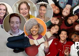 "Elenco de ""HSM: The Musical: The Series"" fala sobre nova temporada, ""Glee"" e mais ao Papelpop!"