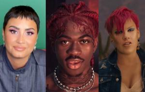 """Demi Lovato, Lil Nas X e P!nk vão participar do """"Can't Cancel Pride"""", show virtual beneficente"""