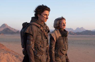 Timothée Chalamet interpreta o protagonista Paul Atreides no filme (Warner Bros. / Divulgação)