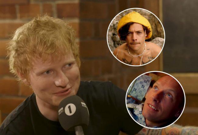 Ed foi a terceira opção para participar do longa (Reprodução)