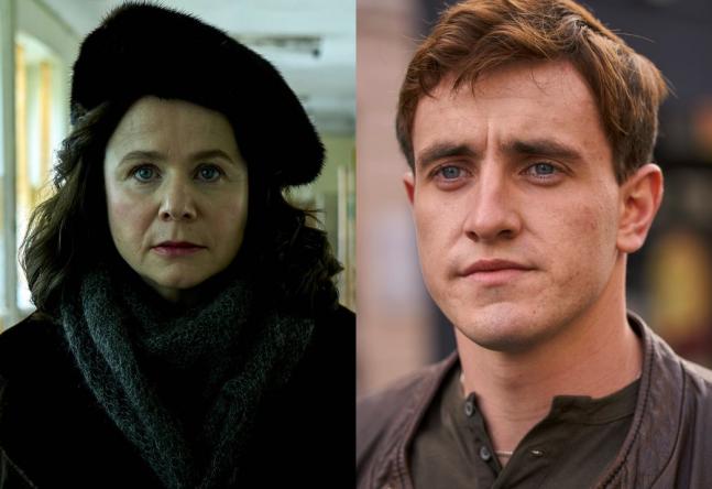 Os dois vão interpretar mãe e filho em uma aldeia de pescadores irlandesa (HBO / Divulgação; Hulu / Divulgação)